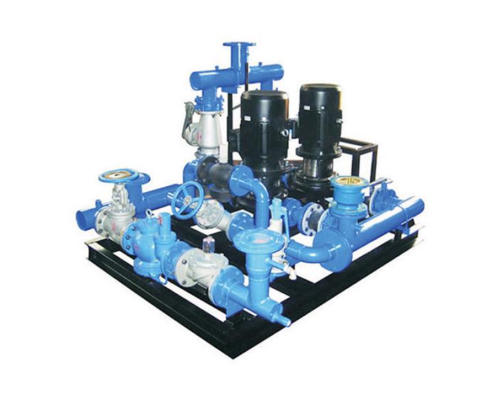 智能高效全自動混水供熱機組
